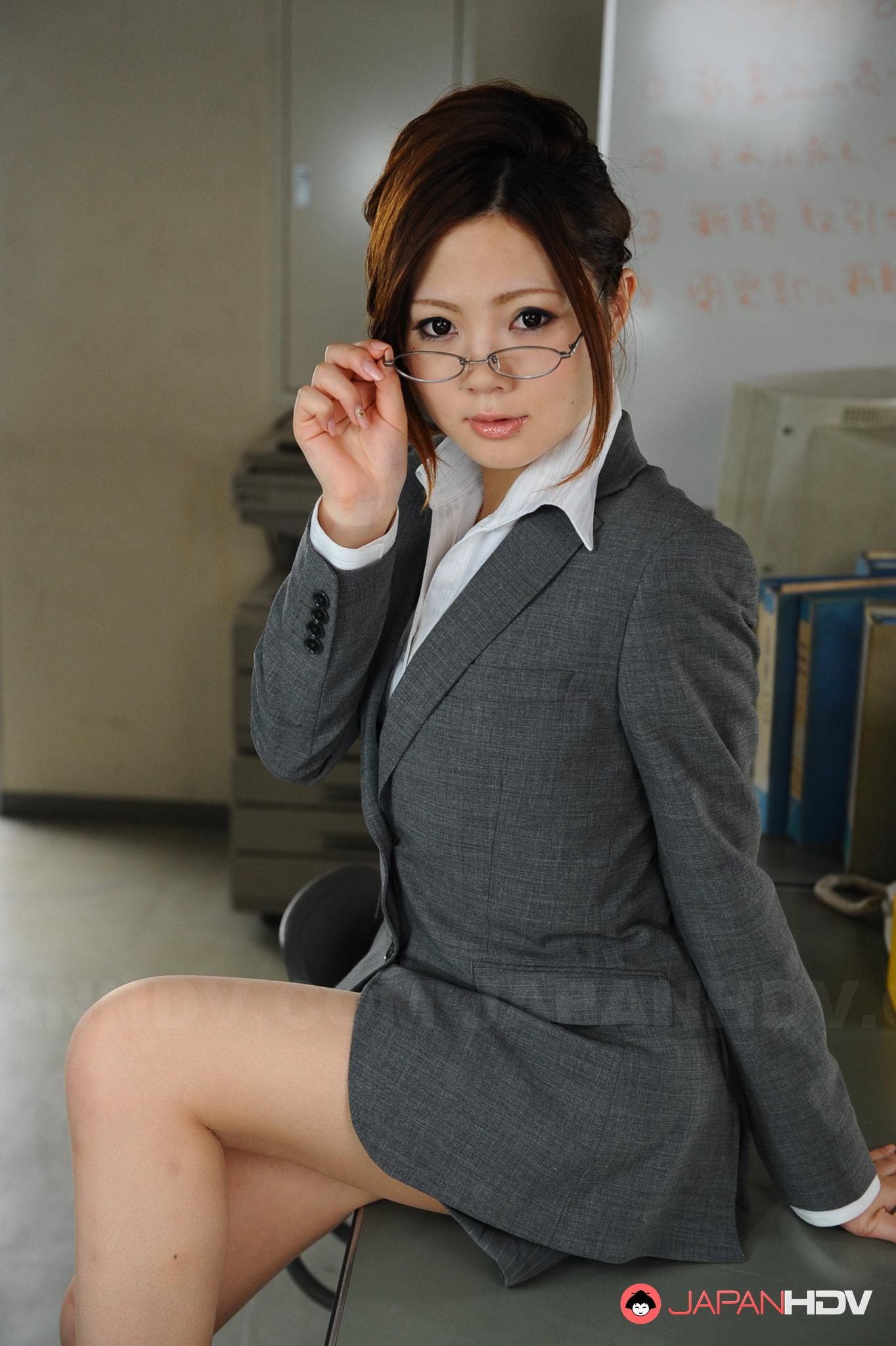 Shy Business Beauty Posing