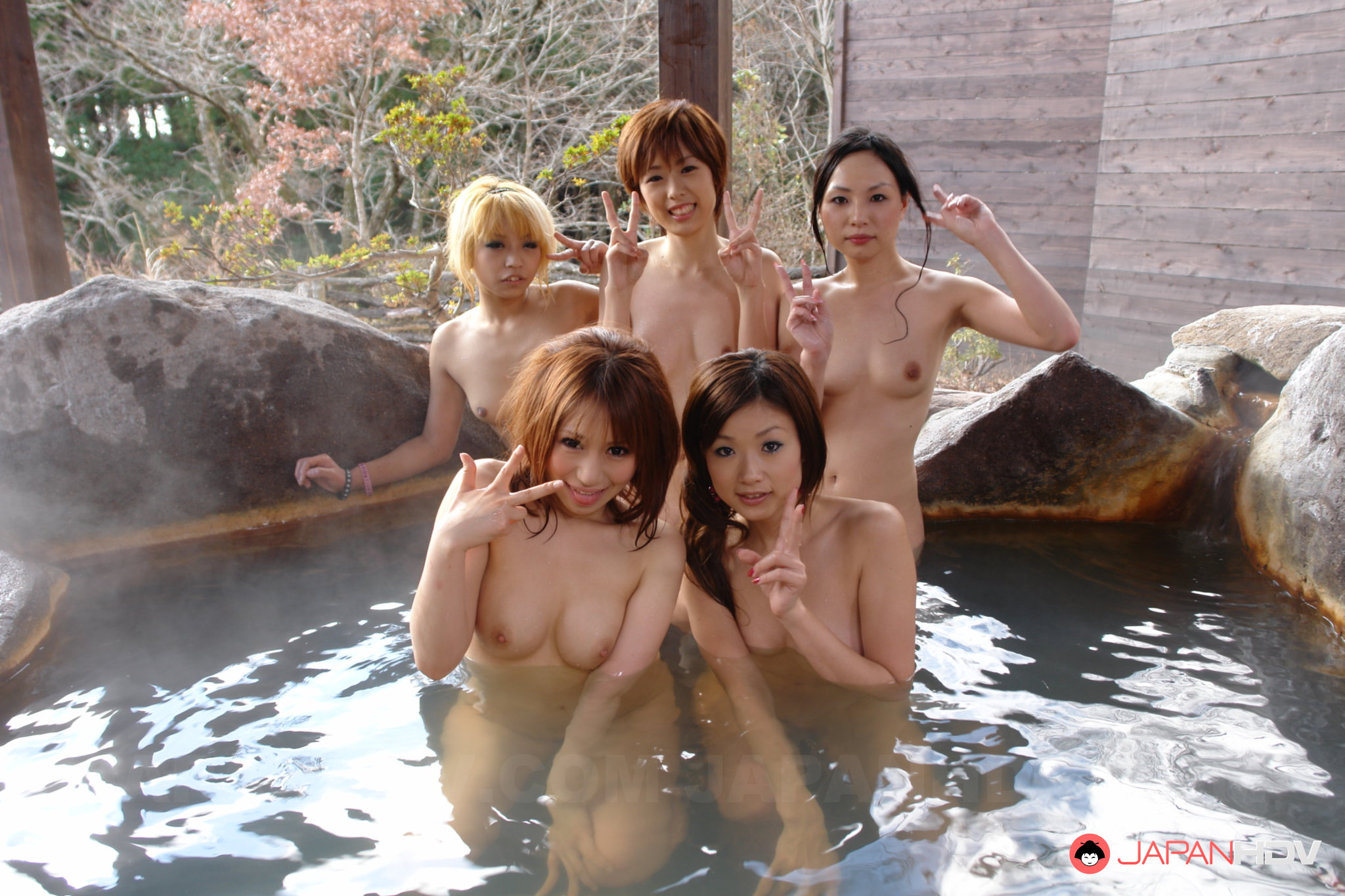 group asian women nude