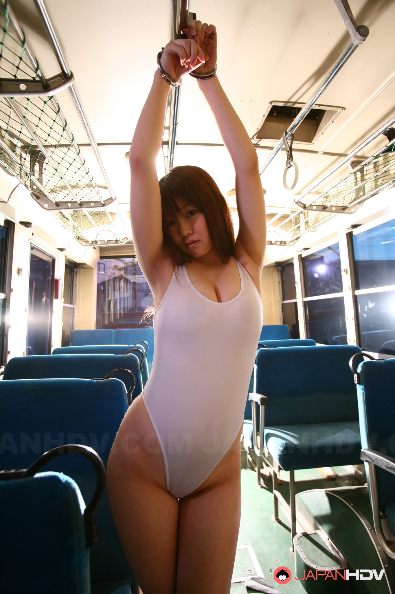 Sexy Gal In Public Transport-6439