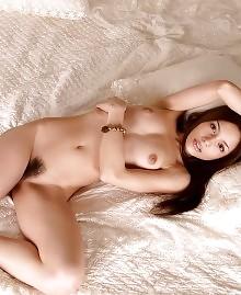 Small tits beauty posing
