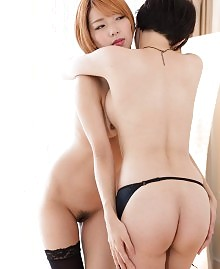 Sexy Asian lesbians
